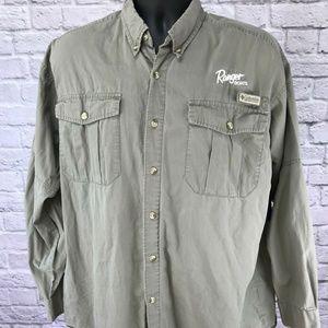 RANGER BOATS Columbia PFG/BFG Vented Fishing Shirt